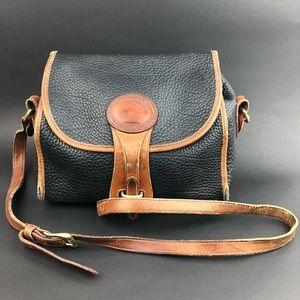Vintage Dooney & Bourke Handbag Crossbody Black